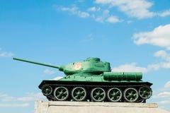 Légendaire du réservoir moyen soviétique T-34 de la deuxième guerre mondiale Photos libres de droits