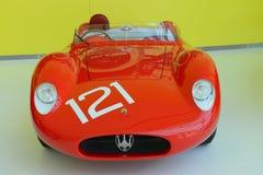 Légendes de emballage de Maserati 300S Photographie stock