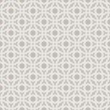 Or léger géométrique décoratif sans couture abstrait et modèle blanc Images stock