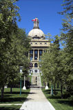 Législature d'Alberta, Edmonton photo stock