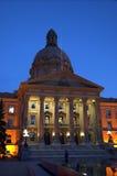 Législature d'Alberta, Edmonton Images libres de droits