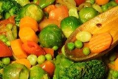 Légume cuit Photos libres de droits