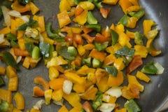 Légume dans la casserole Image libre de droits