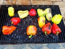 Légume de barbecue Photos libres de droits