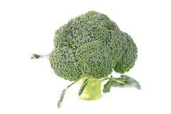 Légume de brocoli d'isolement Photographie stock libre de droits
