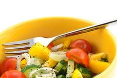 légume de salade de plan rapproché Images libres de droits