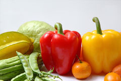 Légume et fruit Image stock