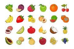 Légume et fruits 2 illustration stock