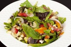 Légume et salade de fruits mélangés délicieux images stock