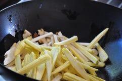 Légume frit par émoi Photo libre de droits