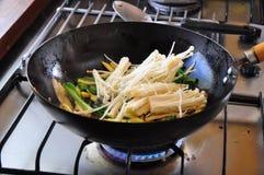Légume frit par émoi Photographie stock libre de droits