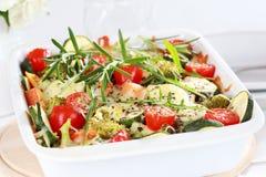 Légume mélangé cuit au four Images stock