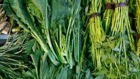 Légume vert au marché Photos stock