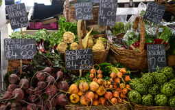 Légumes à vendre photos stock