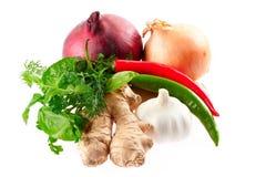 Légumes épicés Photos stock