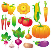 Légumes illustration stock
