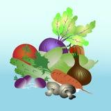légumes illustration de vecteur