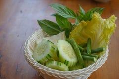 Légumes asiatiques locaux images stock