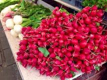 Légumes au marché de fermiers Image libre de droits