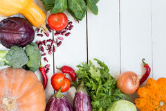Légumes colorés Image stock