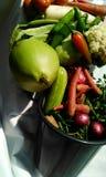 Légumes colorés, très sains Photos stock