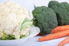 Légumes crus Photos stock
