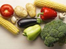 Légumes crus Photos libres de droits