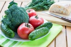 Légumes crus frais Photo libre de droits