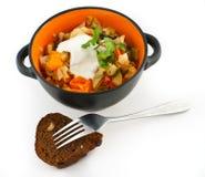 Légumes cuits Photo stock