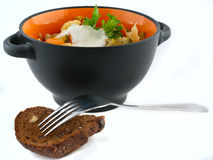 Légumes cuits Image stock