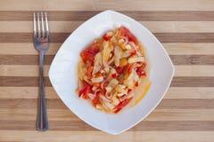 Légumes cuits photos libres de droits