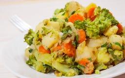 Légumes cuits Image libre de droits