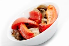 Légumes cuits au four Images libres de droits