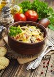 Légumes cuits au four Photos libres de droits