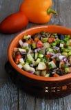 Légumes cuits au four Photos stock