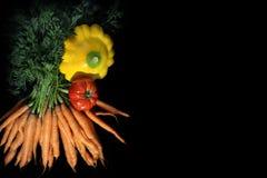 Légumes d'été de Farmer& x27 ; marché de s photo libre de droits