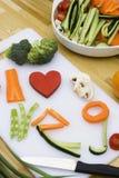 Légumes d'amour Images stock
