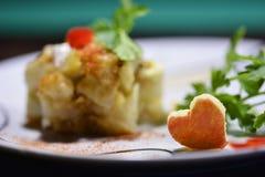 Légumes d'un plat Photos libres de droits