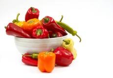 Légumes dans la cuvette images libres de droits