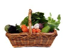 Légumes dans le panier Photographie stock libre de droits