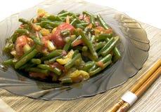 Légumes dans une cuvette. Image stock