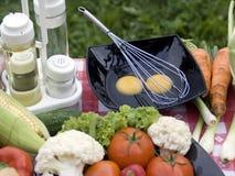 Légumes de barbecue Images stock