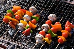 Légumes de barbecue Photographie stock