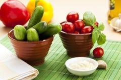 Légumes de casse-croûte Image stock