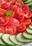 Légumes de découpage Images libres de droits