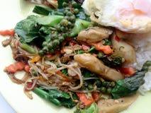 Légumes de fines herbes frits Photographie stock libre de droits
