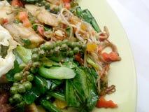 Légumes de fines herbes frits Image stock