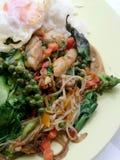 Légumes de fines herbes frits Photographie stock