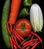 Légumes de mélange Photos libres de droits