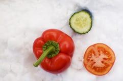 légumes de neige Photo stock